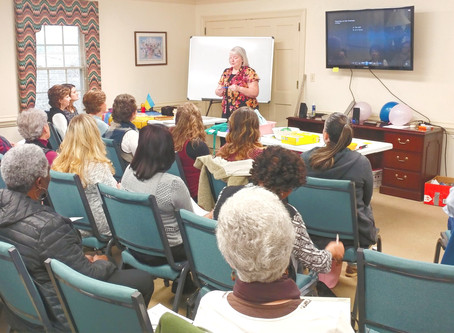 Outstanding Response to the Children's Ministry Training