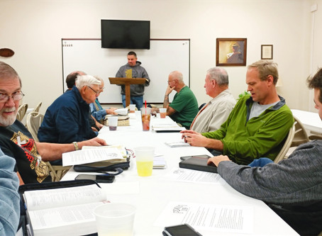 Calvary, RR Men's Bible Study