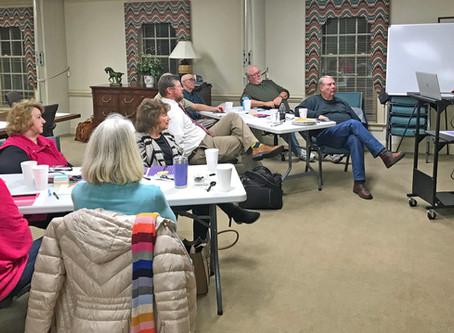 Nashville Deacons Utilize NRBA Resource Center for Retreat
