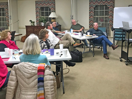 Nashville Deacons Utilize NRBA Resource Center for Retreat