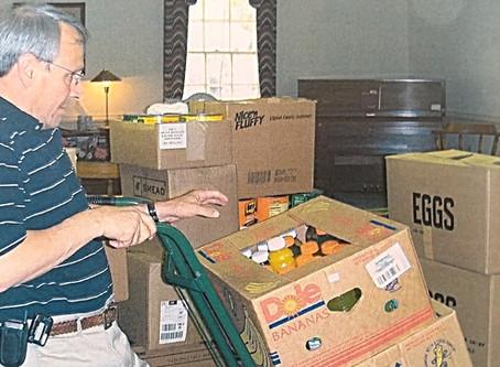 NRBA Supports Baptist Children Home's Food Drive