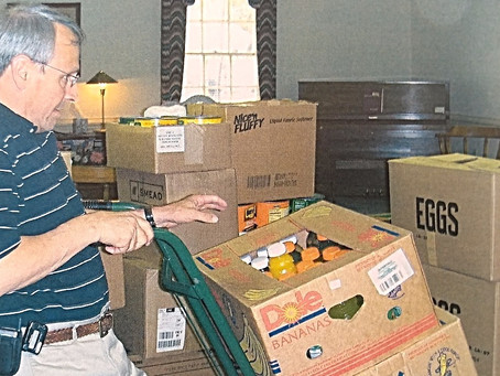 NRBA Supports Baptist Children Home's Food Drive
