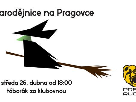 Čarodejnické opekání na Pragovce