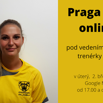 Od úterka cvičí Praga online