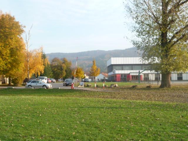 Foto z areálu Sokola Dobřichovice