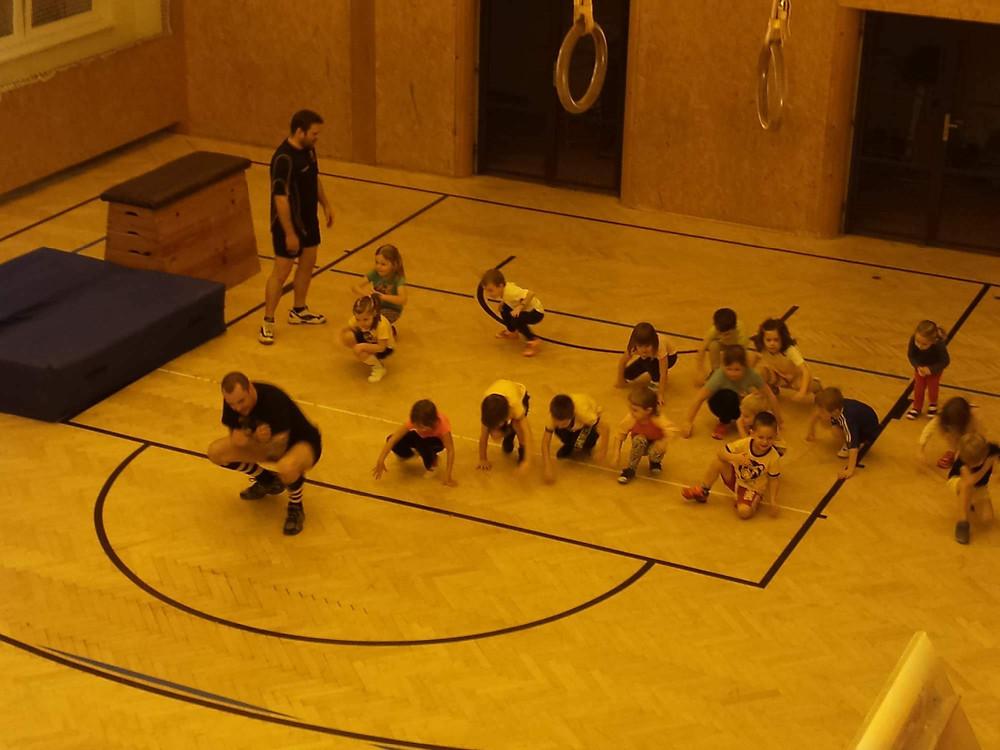 Školka v tělocvičně