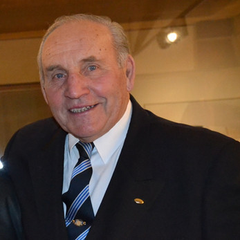 Eduard Krützner oslavil 85. narozeniny