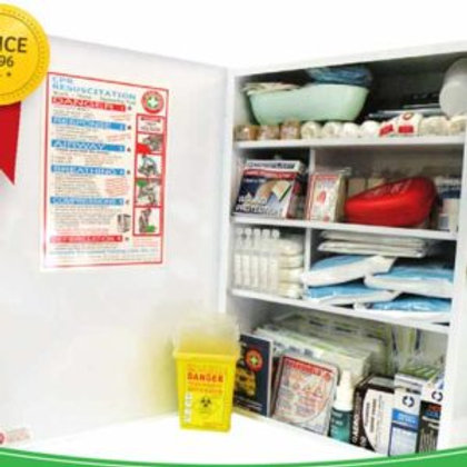 K1009 School and Child Care Centre First Aid Room Kit – Plastic Box
