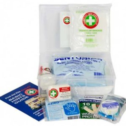 K111 Promotional First Aid Kit – Plastic Box