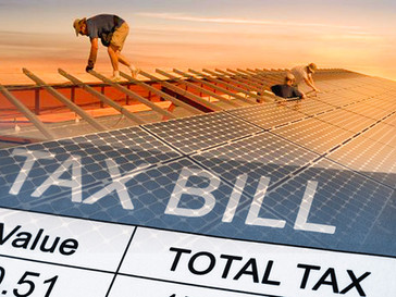 Solar Energy in a Taxing Time: How the GOP Tax Bill Affects Commercial Solar Rebates