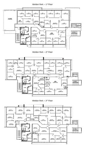 Weldon Park Floor Plan
