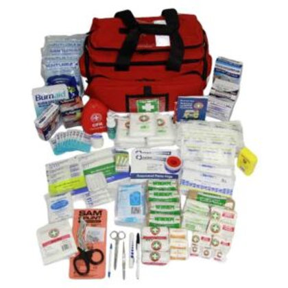 K1666 High Risk Remote Area First Aid Kit—Soft pack