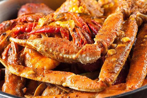 1/2 Lb Shrimp & Crab-legs