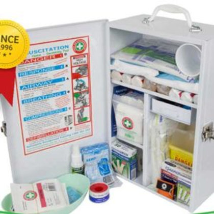 K800 Workplace Wall Mount First Aid Kit