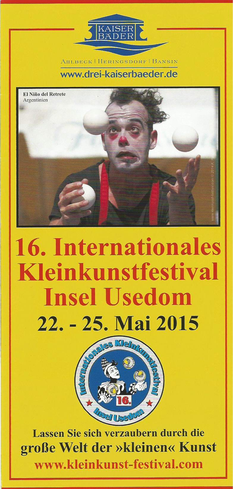 INTERNATIONALES KLEINKUNSTFESTIVAL