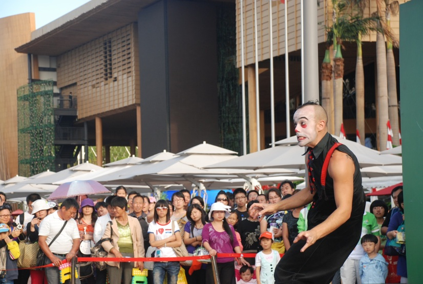 Street Performance show