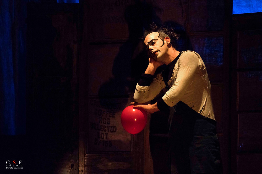 clown palloncino elio manipolazione giocoliere
