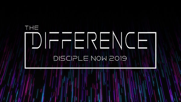 The Difference logo & front of invite ca