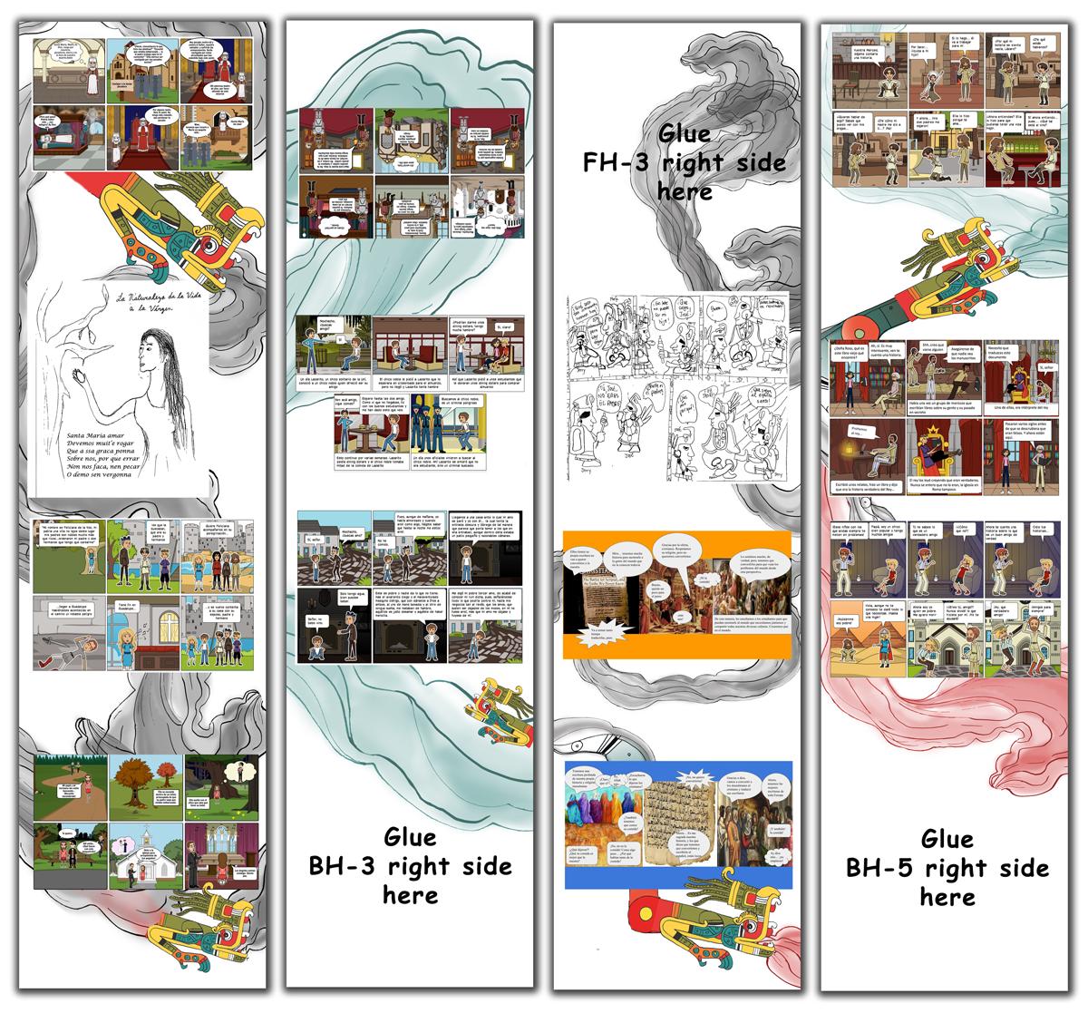 Sample vertical panels