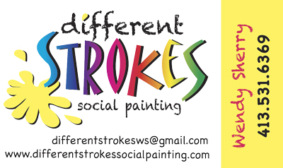 Different Strokes business card
