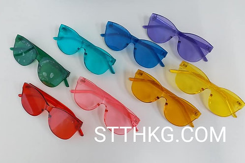 Colored Lens Glasses