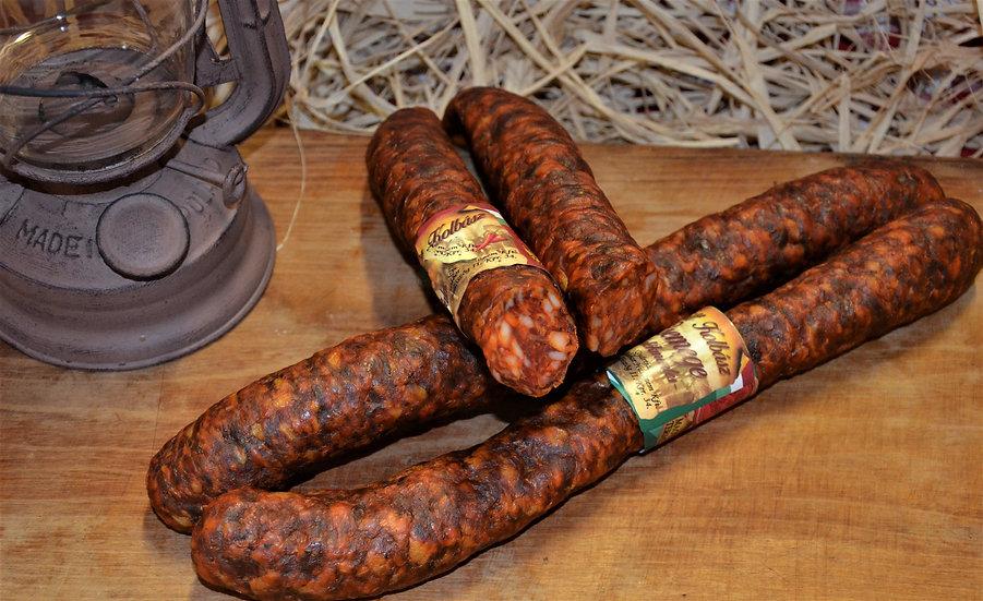 627. Füstölt kolbász csemege házias (cca. 500 gr)