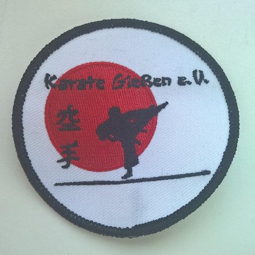 Vereins-Aufnäher Karate Gießen e.V.