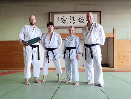 Besuch bei Sensei Andre Bertel in Japan Oita