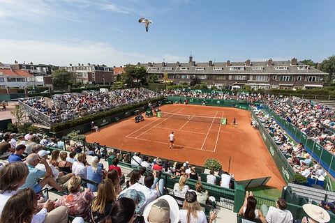 Centre court The Hague Open 2018