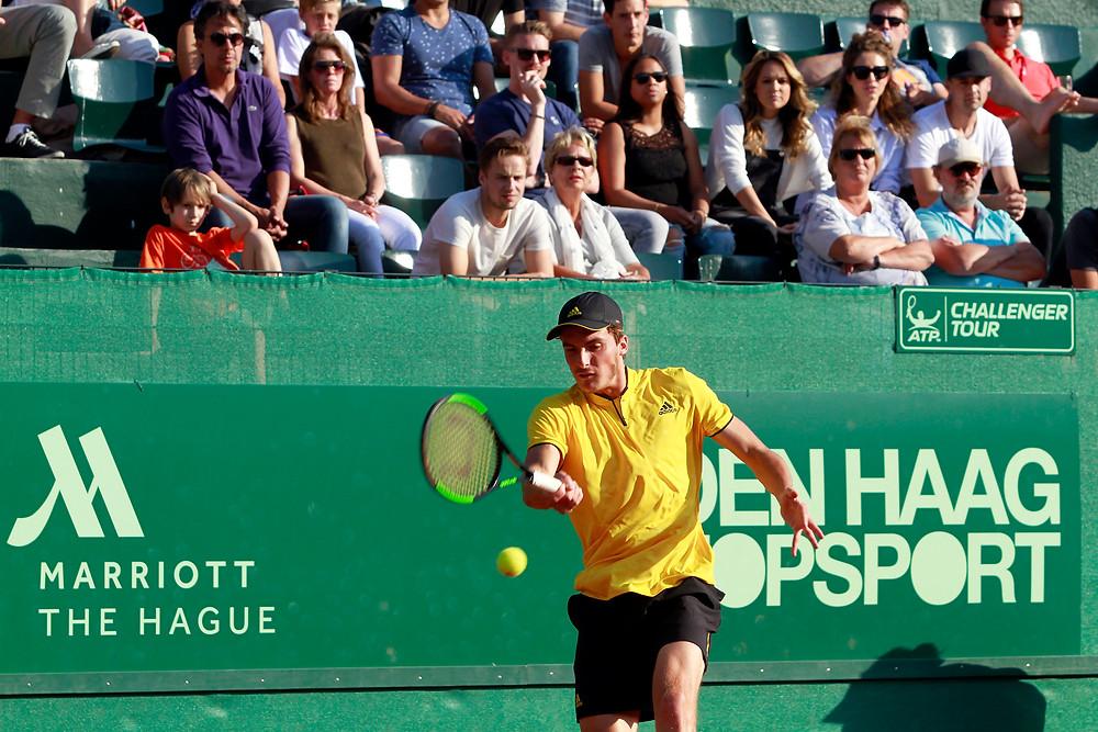 Stefanos Tsitsipas op ATP Challenger The Hague Open 2017