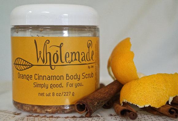 Orange  Cinnamon Body Scrub