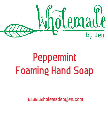 Peppermint Foaming Hand Soap