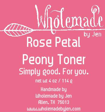 Rose Petal Peony Toner