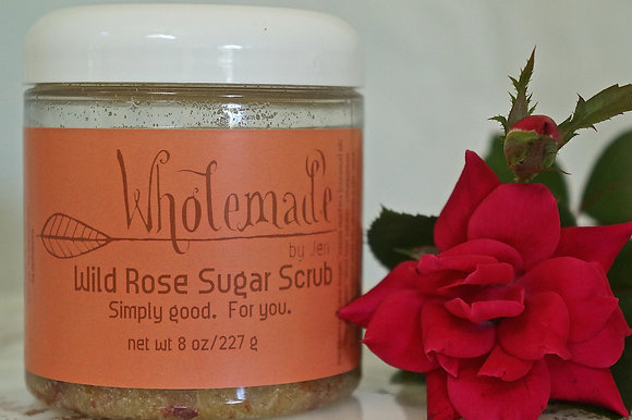 Wild Rose Sugar Scrub