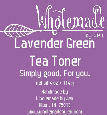 Lavender Green Tea Toner