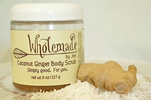 Coconut Ginger Body Scrub
