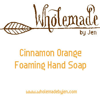 Orange Cinnamon Foaming Hand Soap