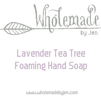 Lavender Tea Tree Foaming Hand Soap