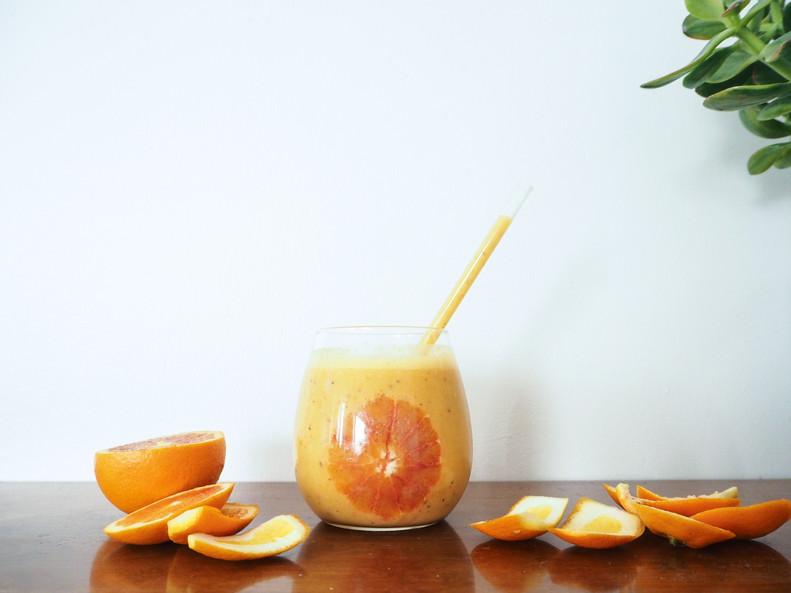 TYRNI-VERIAPPELSIINISMOOTHIE / Sea-buckthorn & Blood orange Smoothie