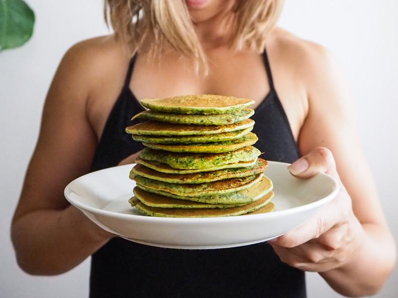 PINAATTILETUT / Spinach Pancakes