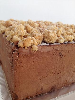 MAPLE BANANA CHOCOLATE CAKE