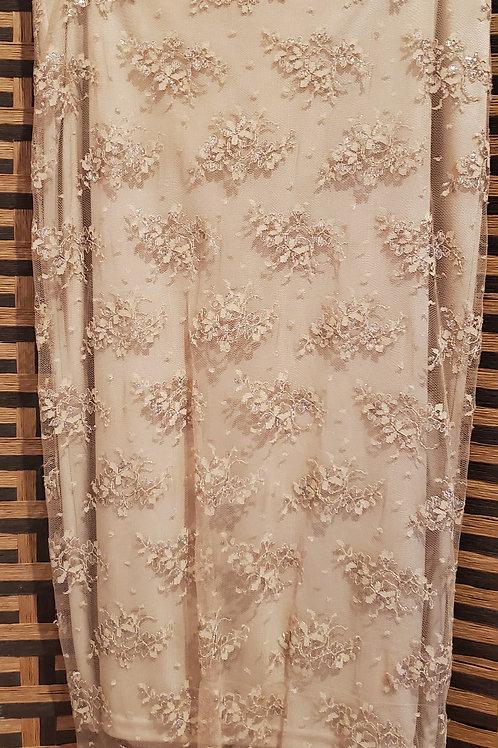 Beautiful Gold Lace Skirt