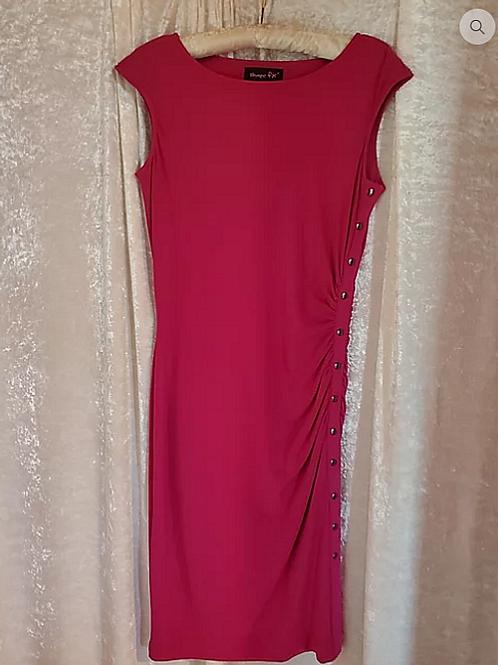 Raspberry Casual Dress.