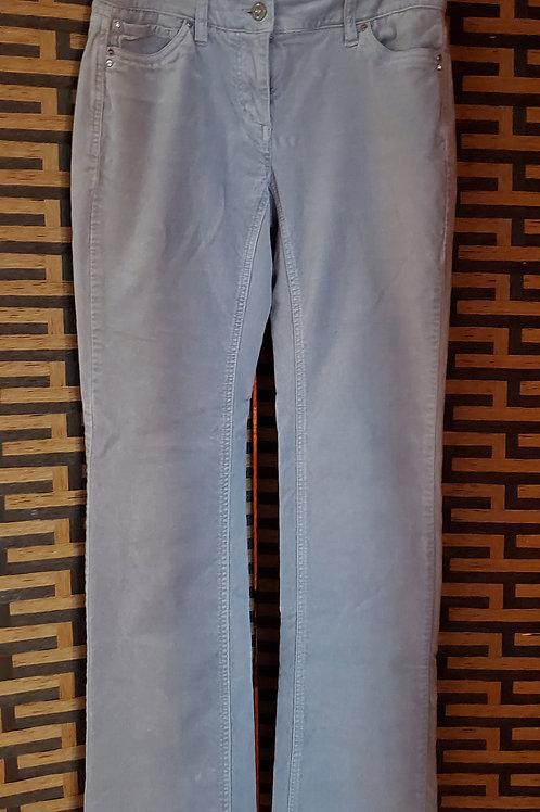 Grey Velvet Jeans
