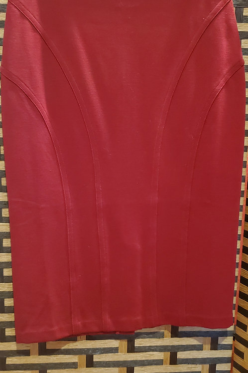 Red Classy Skirt