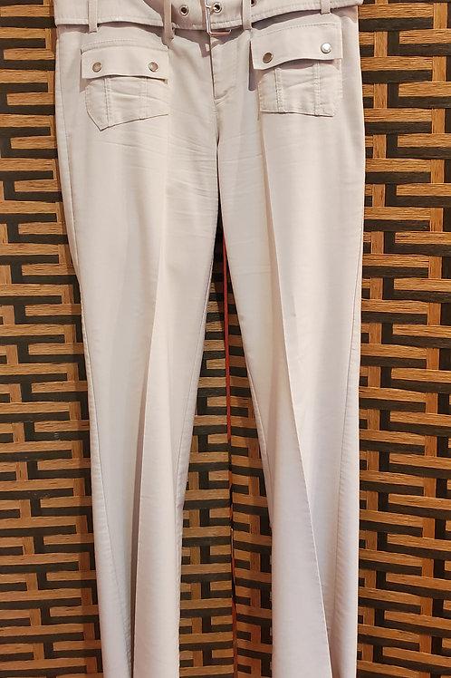Light Grey Belted Pant