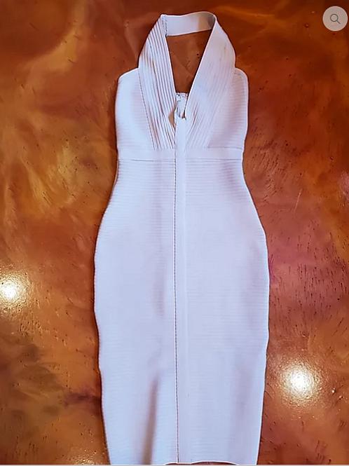 Beige Bandage Dress.