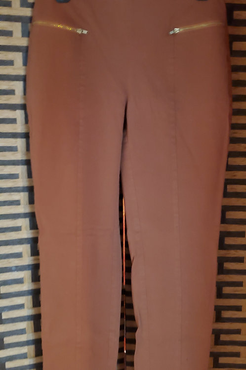 Copper Brown Casual Pants