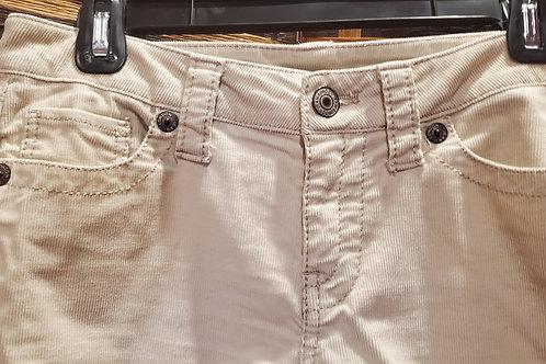 Ivory Corduroy London Jeans