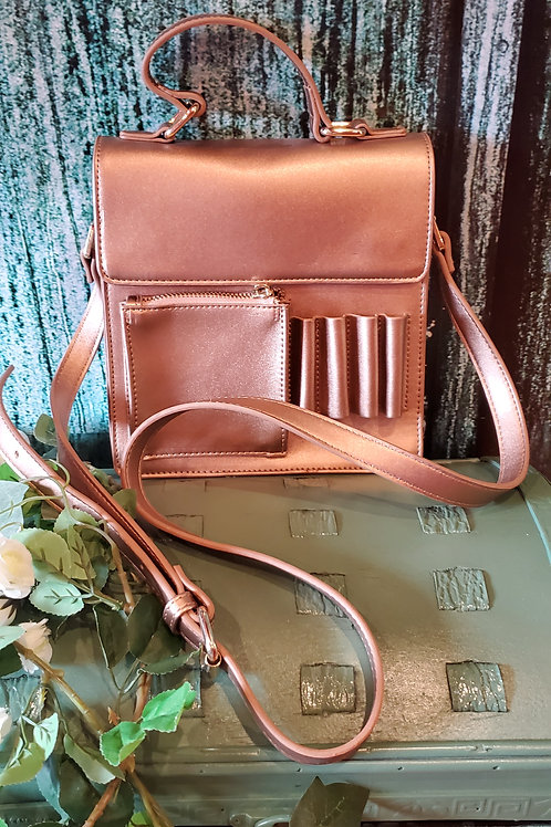 Small Copper Cross body Bag